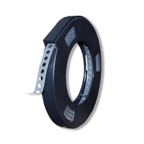 Breite 19mm  10 Meter 0,70€//mtr Lochband Montageband verzinkt und beschichtet