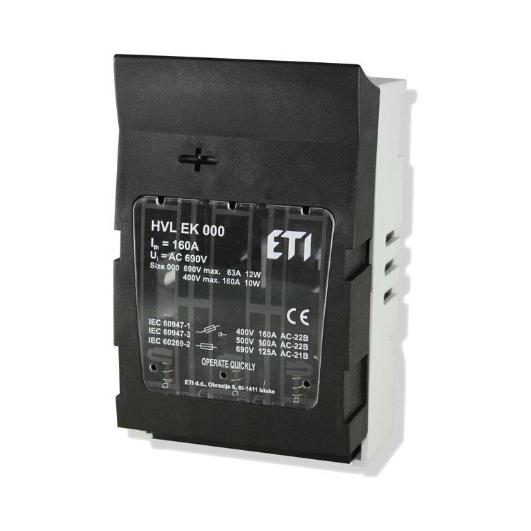 NH Sicherungs - Lasttrenner 3-polig bis 160 Ampere