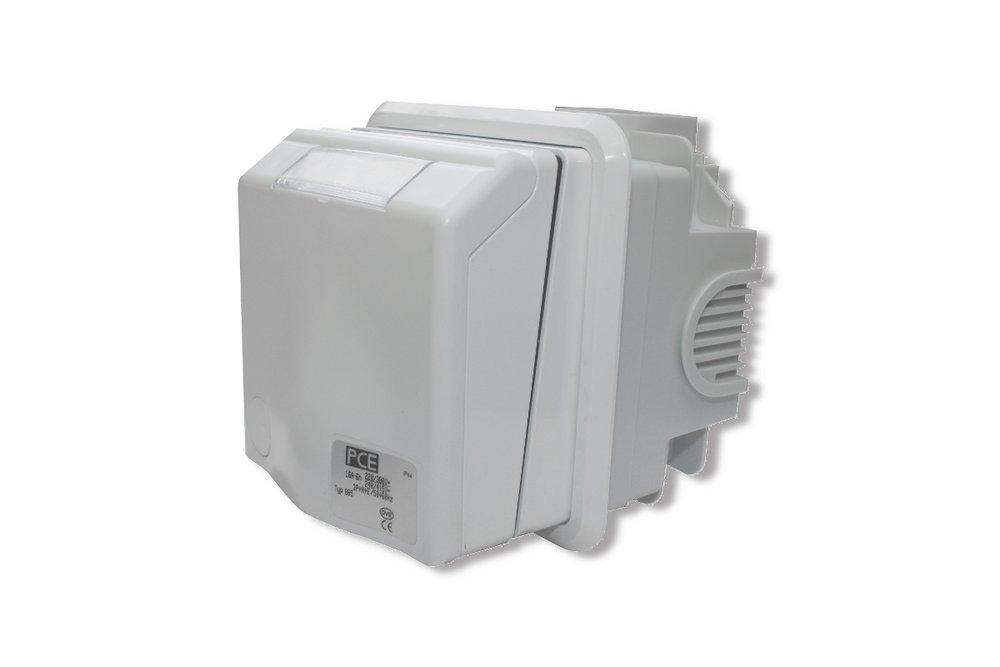 CEE Unterputz Steckdose 5polig 400 Volt bis 16 Ampere