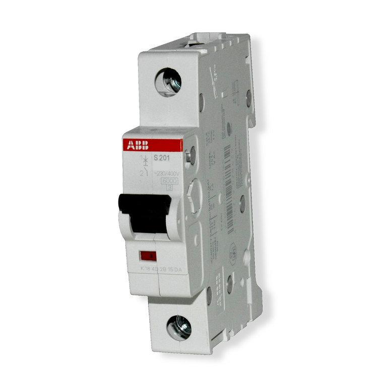 ABB Leitungsschutzschalter S201 B20 1polig bis 20 Ampere