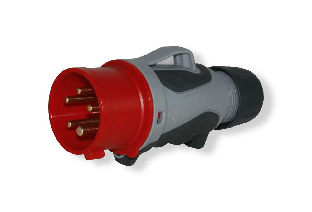 Turbo CEE Kraftstrom Stecker GRIP TT - 5 polig bis 32 Ampere FB16